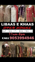 OPEN HOUSE for  Pakistani dresses