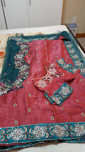 Indian party wear sarees and suits for sale