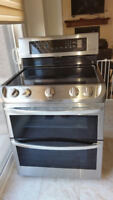LG Double Oven Stove