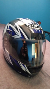 HJC CS-12 helmet.  Large. Worn twice.