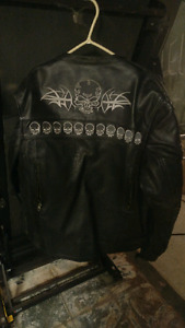 Mens motorcycle jacket for sale
