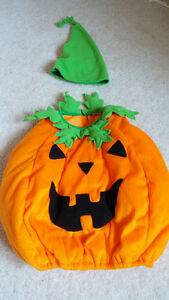 Pumpkin costume for 2 years old (2T)