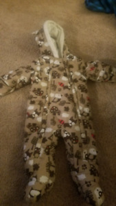 George snow suit 6-12 months