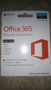 Office 365 One Year Subscription