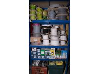 Retired electrician selling electrical shelf stock