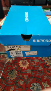 Shimano MTB shoes with pedals