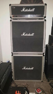 1987 Marshall 2555 Silver Jubilee Full Stack - NOT a reissue!