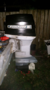 1969 evinrude 55hp need gone