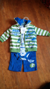 New 3 piece toy story 3 buzz lightyear outfit