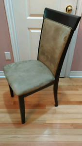 Dining table chairs only - set of 8 - $100