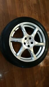 "17"" Firestone All-Season Sport Edition Alloy Rims TPMS $500"