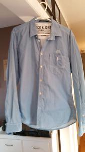 Jack and Jones Pin Stripe Shirt