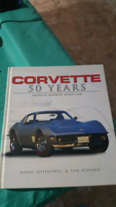 Corvette 50 years book