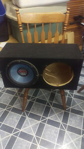"PROFESSIONALLY BUILT DUAL 10"" SUBWOOFER BOX"