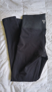 Tna atmosphere leggings black/heather black - medium