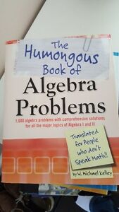 Math Problems Humongous books - Algebra, Geometry, Calculus