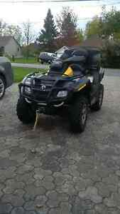2009 can am outlander max xt 650