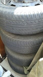 4 Goodride M+S Tires and Rims Strathcona County Edmonton Area image 3