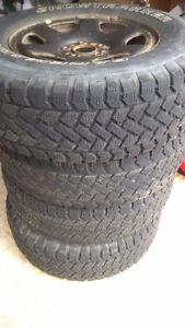 "set 16"" winter tires and rims St. John's Newfoundland image 2"