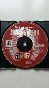 Broken Sword 2 for the  Playstation PS1