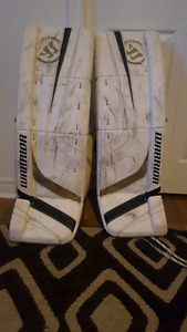Marc Andre Fleury Pro Return Pads and Gloves