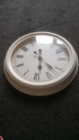 Nice white clock