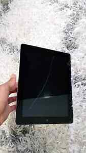 Ipad 2 64 gb WiFi + cellular $180 firm! *THIN HAIRLINE CRACK* London Ontario image 2