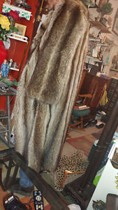 Women's Racoon Fur Coat