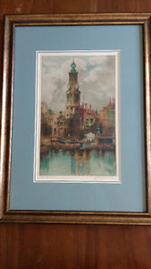 Amsterdam signed by Louis Whirter