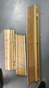 Wooden Blinds (3 pieces)