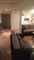 Newly built basement apartment for rent