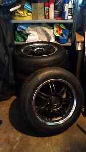 Rims and winter tires Stratford Kitchener Area image 1