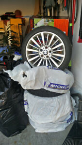 225/45/R18 f30 bmw OEM rims and  Winter tires