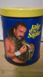 Wwf wrestling tin