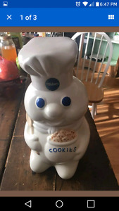 Pillsbury Doughboy Cookie Jar Wanted