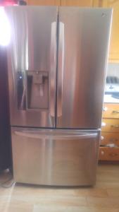 Refrigerateur LG 36' en stanless 3 portes