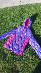 Manteau Gerry mauve et rose pour filles