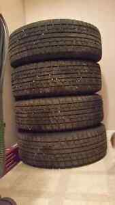 16 inch winter tires and rim's for Mitsubishi