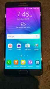 SAMSUNG GALAXY NOTE 4 BLACK, UNLOCKED