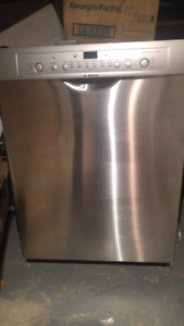 Bocsh ascenta stainless dishwasher **(few scratches)**
