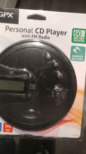 Portable CD Player with Headphones - LNIB
