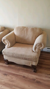Love Seat and Armchair/Free need gone ASAP
