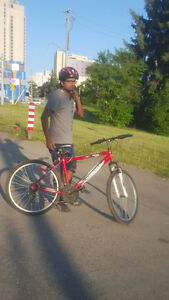 Supercycle  bike for sale with helmet and air pump