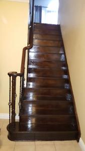 Stair,hardwood,laminate flooring for estimate call 647 779 9669