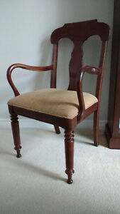 Walnut Accent Chair