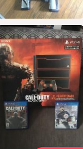 1 TB special edition call of duty PS4 .