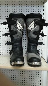 Stinger Fly Racing Boots (Benefits SPCA)