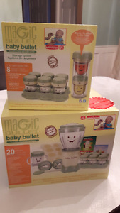 Baby Bullet with additional storage containers