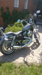Like New 2014 Harley Davidson Sportster 72 Many extras