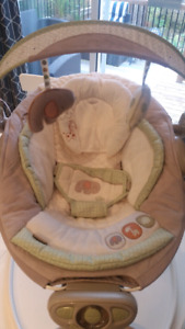 Vibrating Baby Chair & Automatic Bouncer